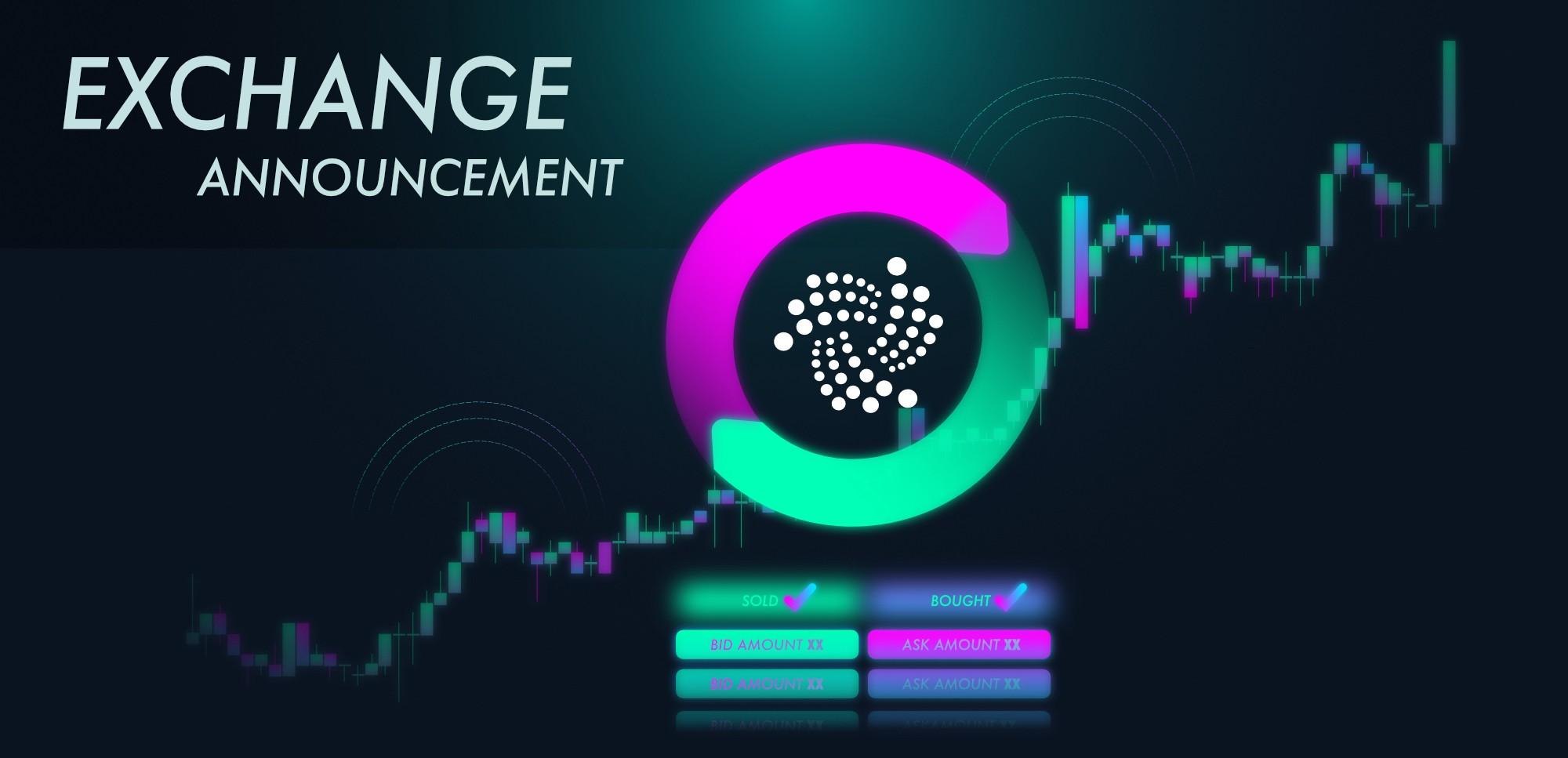 IOTA Trading auf Bitfinex