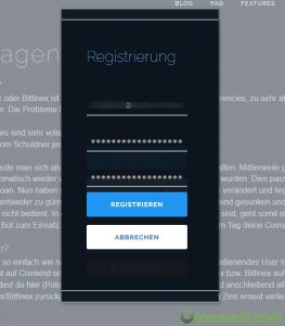 coinlend tutorial registrieren e-mail passwort