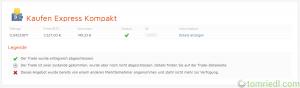 bitcoin.de Expresskauf abgeschlossen