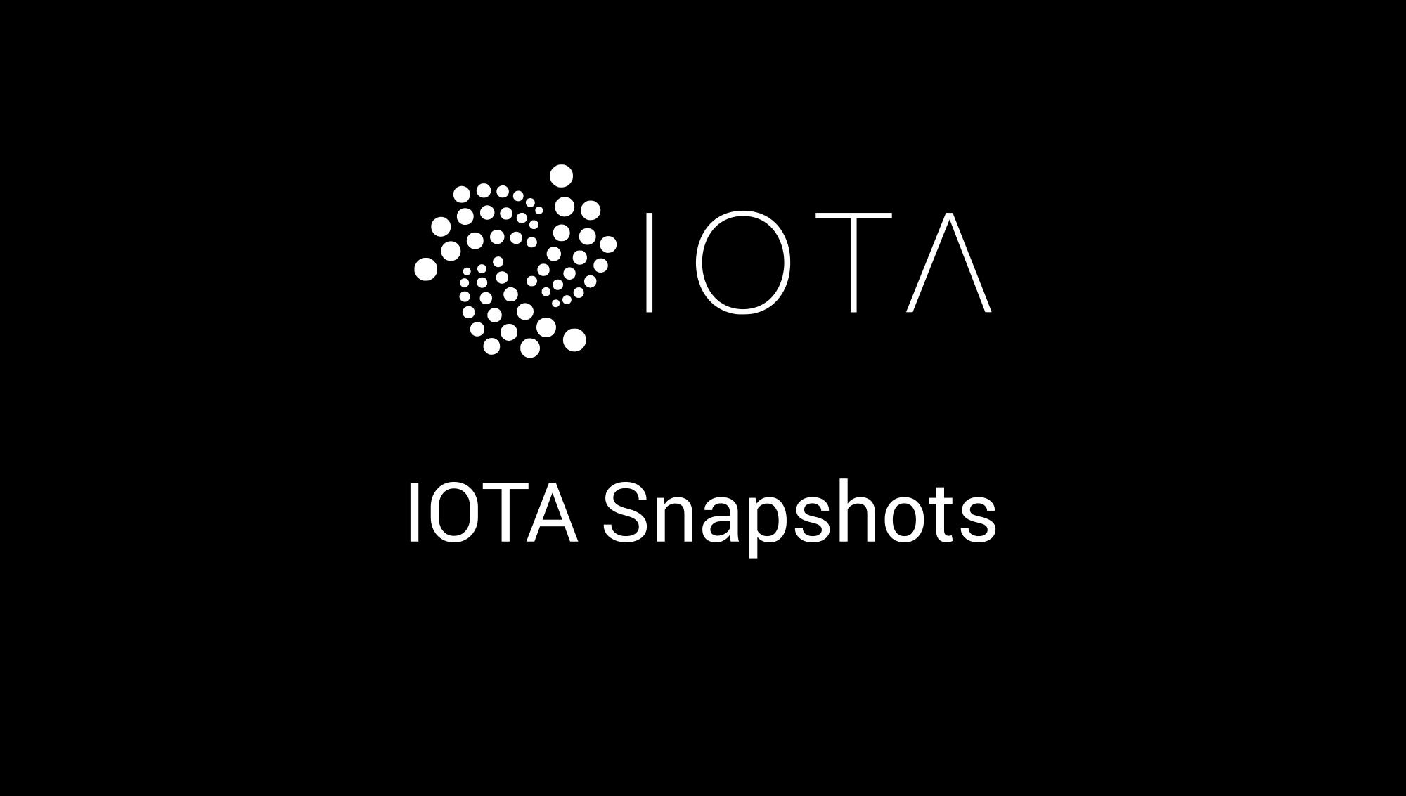 IOTA Snapshots